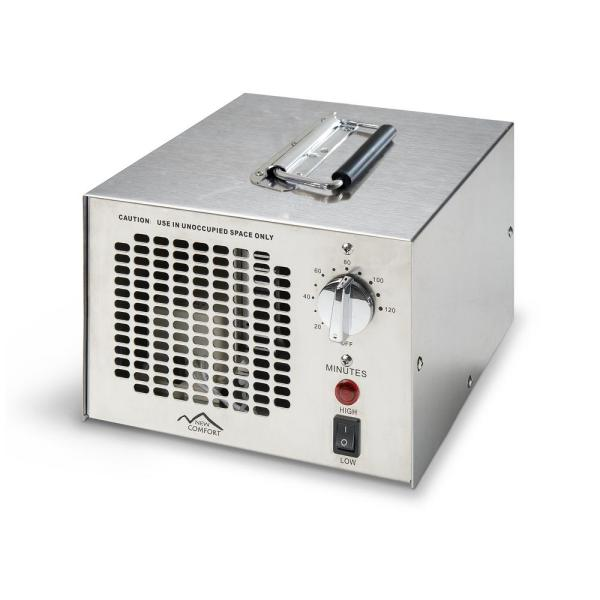 Stainless Steel 03/700 Commercial Ozone Generator Air Purifier with UV