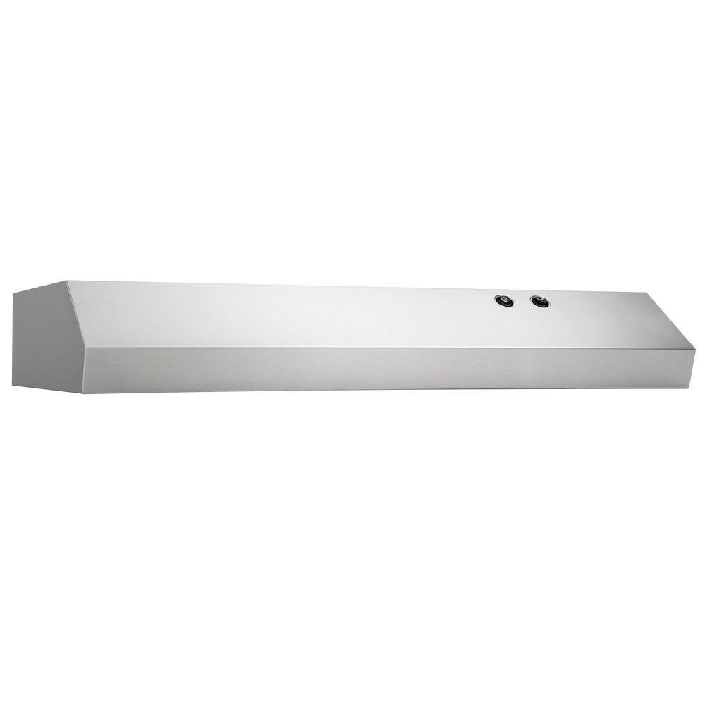 30 in. Under Cabinet Convertible Range Hood in Stainless Steel