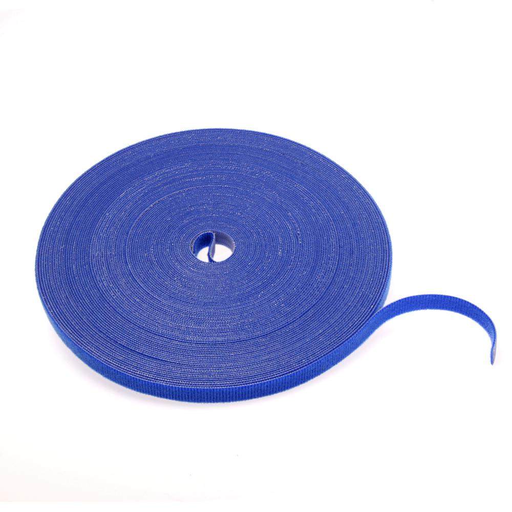 Cable Management Solutions 75 ft. VELCRO Brand Bulk Roll, Blue