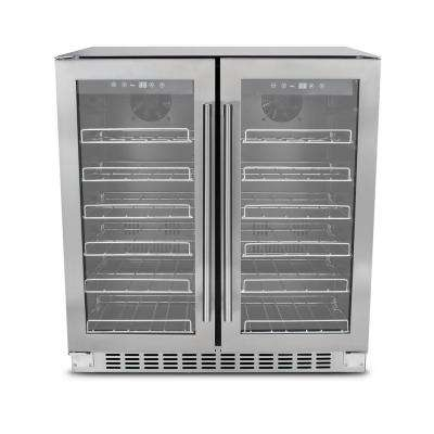 Dual Zone 36-Bottle Wine Cooler