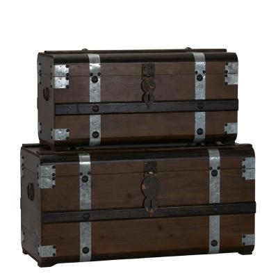 Steel Band Trunk 2-Piece Set