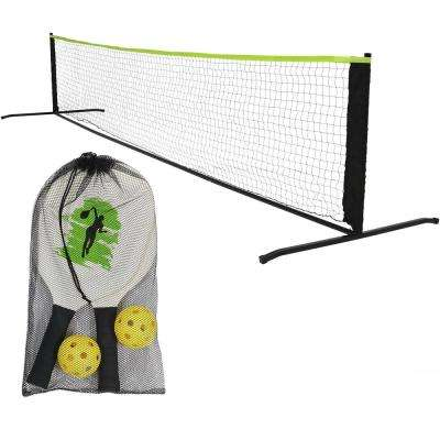 12 ft. Pickleball Net with Stand, Paddles and Balls