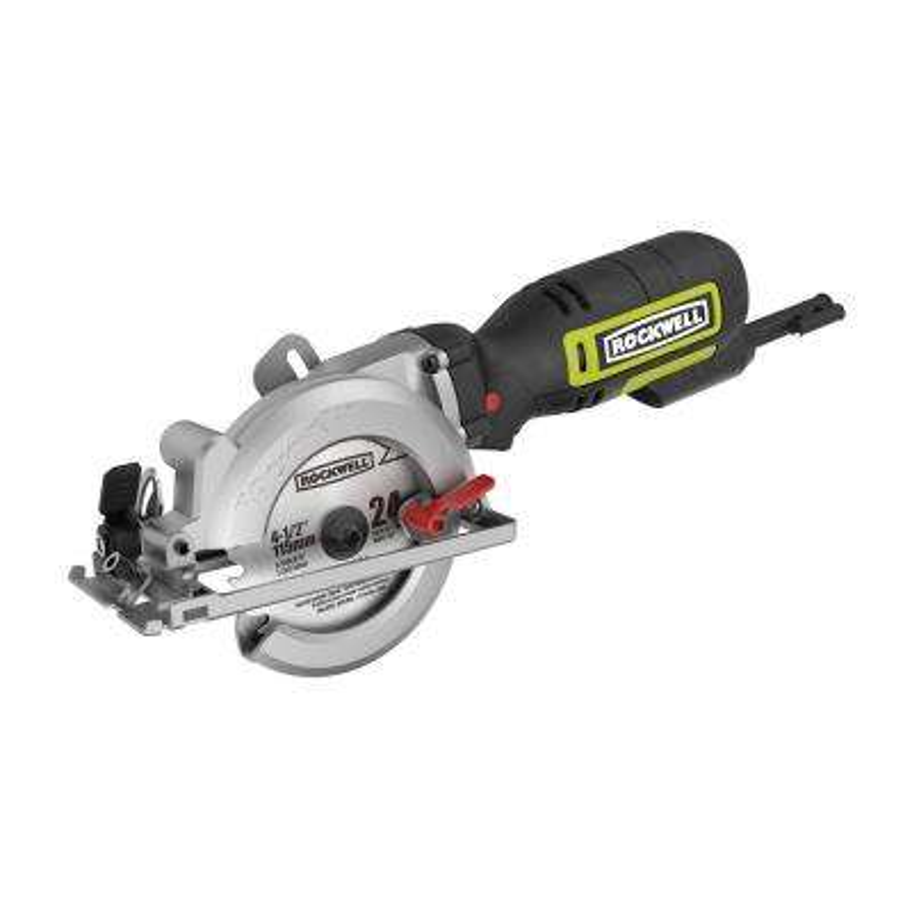 4 -1/2 in. 5 Amp Compact Circular Saw