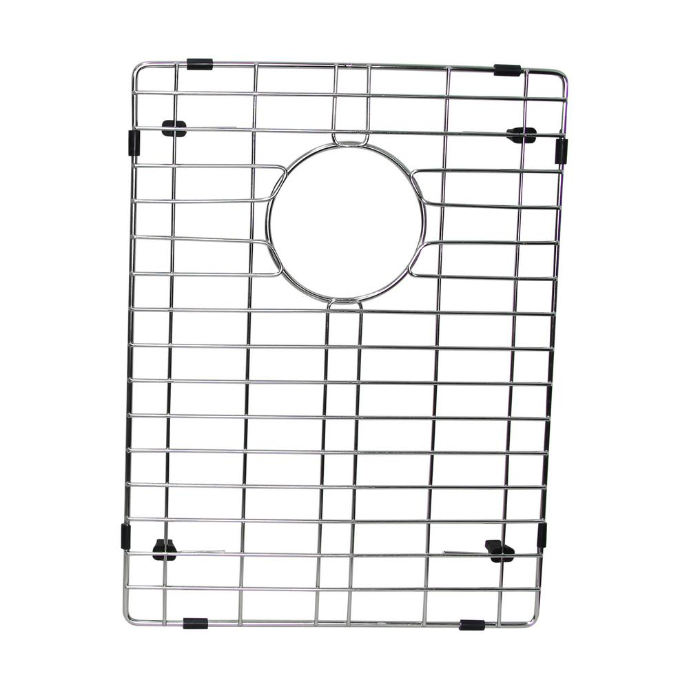 12.75 in. x 17.25 in. Kitchen Sink Bottom Grid in Stainless