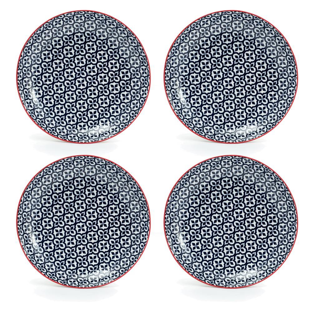 Serena Blue Salad Plate (Set of 4)