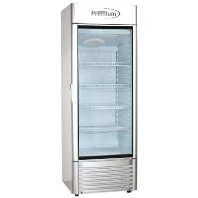 Premium 12 5 Cu Ft Single Door Commercial Refrigerator Beverage Cooler In Gray Prf125dx The Home Depot