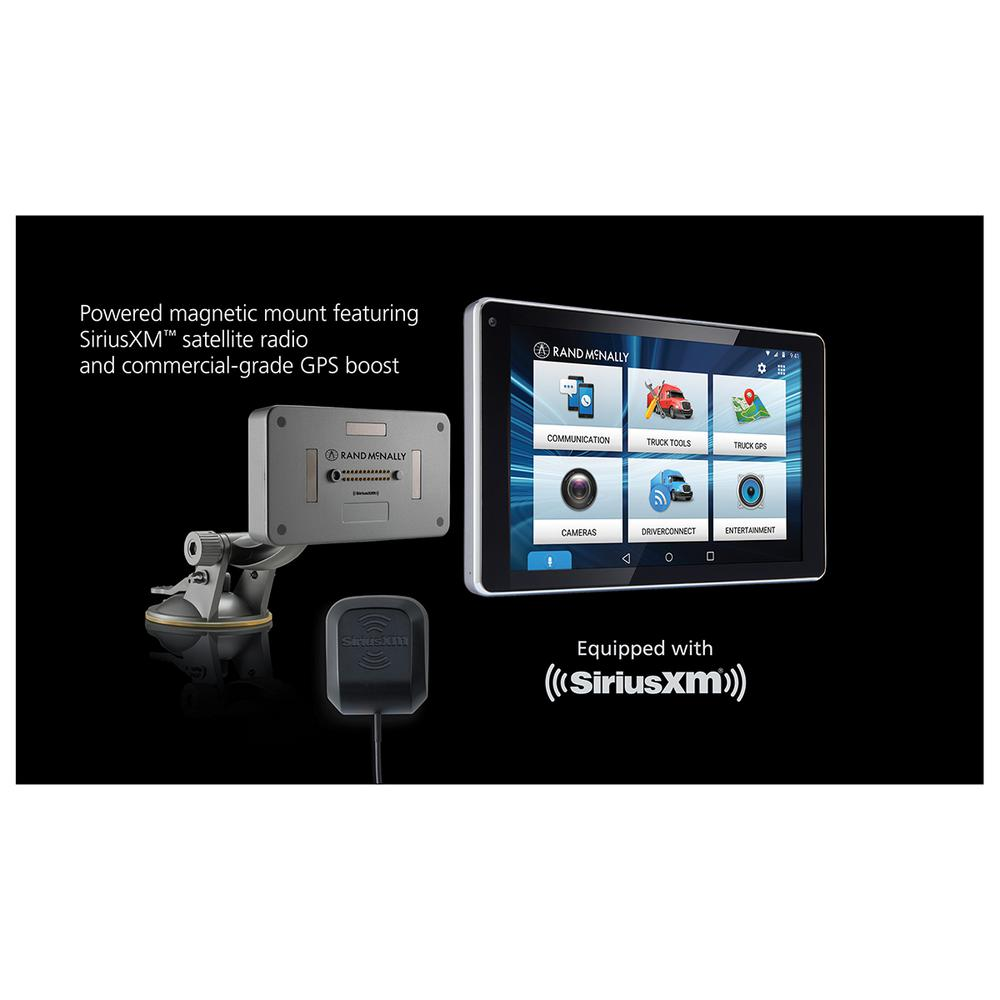 Rand Mcnally Gps >> Rand Mcnally Overdryve 7 Pro Truck Navigation With 7 In Display Bluetooth And Siriusxm Ready