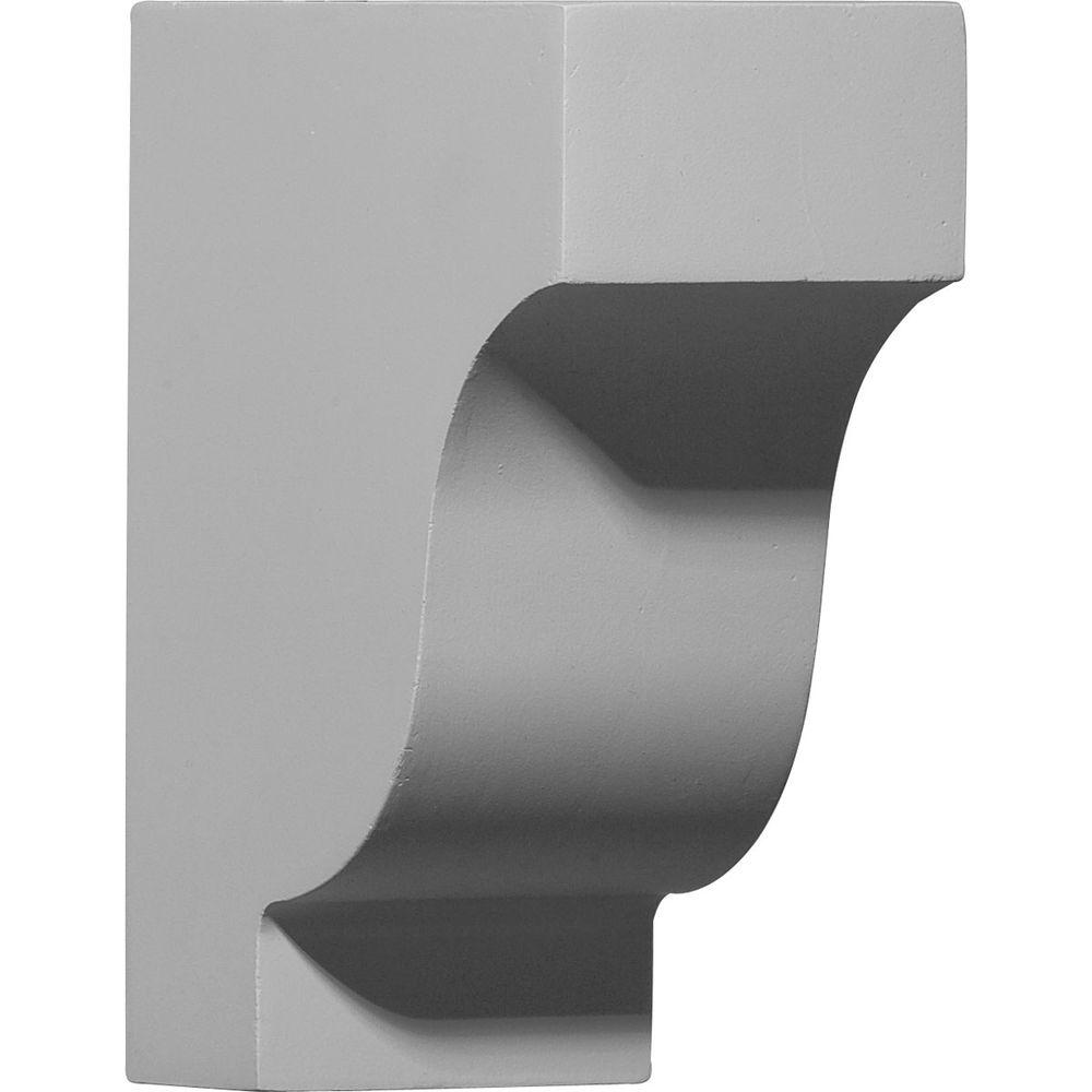 Ekena Millwork 2-7/8 in. x 5-7/8 in. x 7-1/4 in. Polyurethane Traditional Corbel