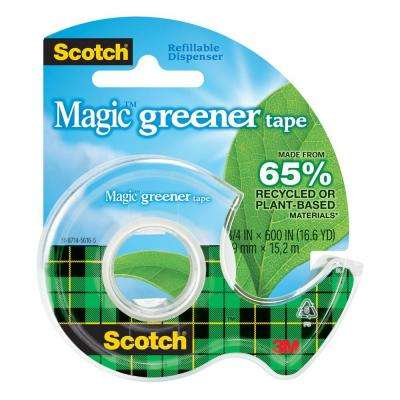 Scotch 3/4 in. x 16.6 yds. Magic Greener Tape (Case of 144)