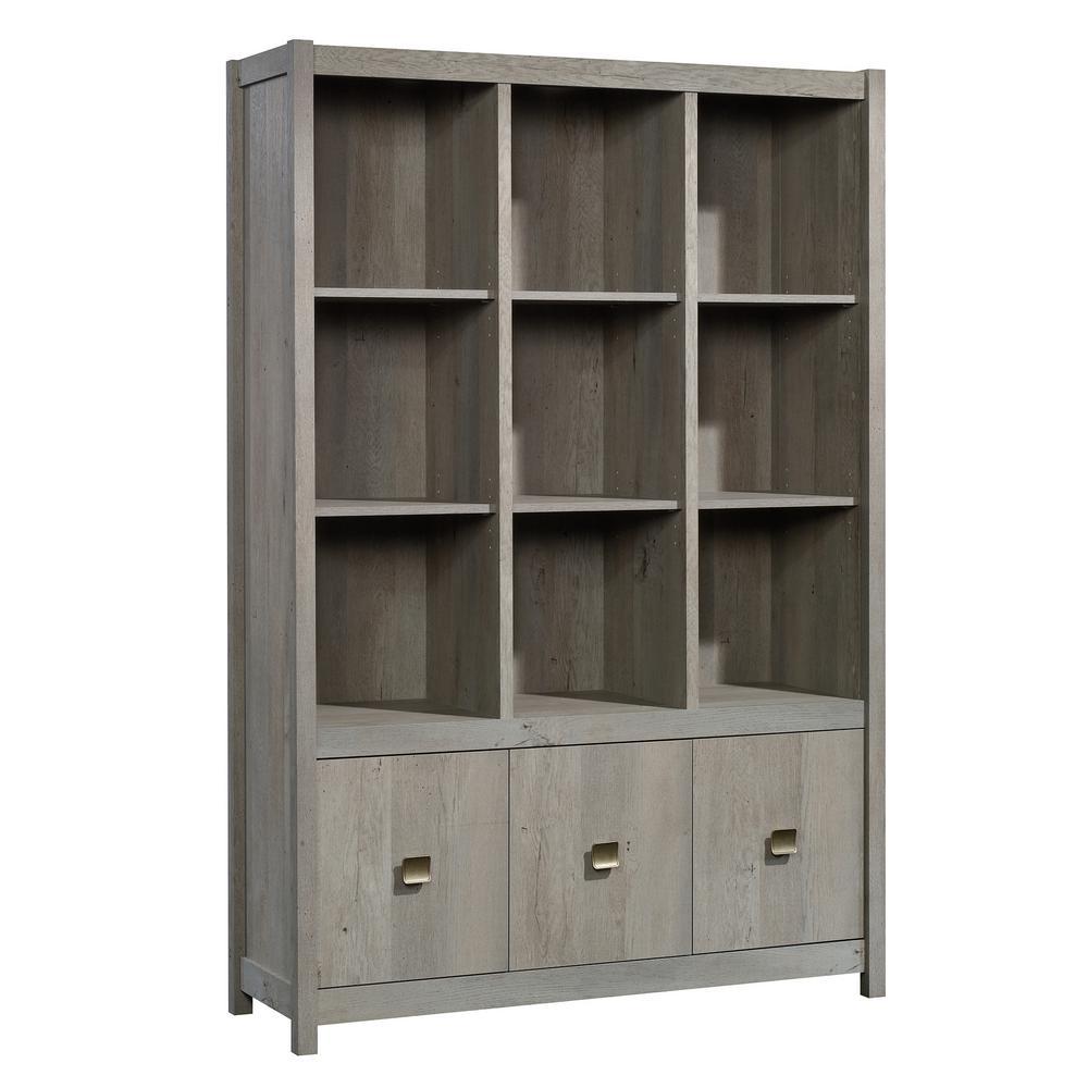 Cannery Bridge Mystic Oak Wall Storage Cabinet