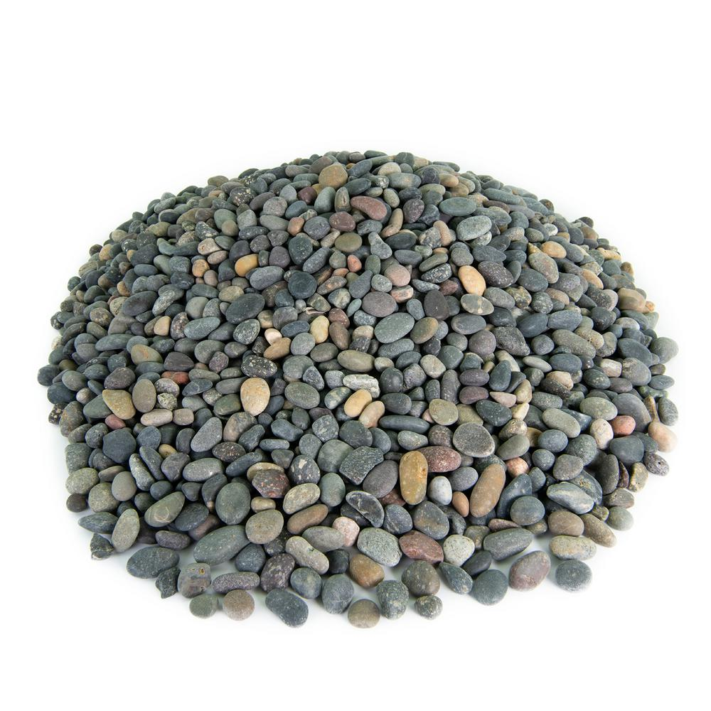 Southwest Boulder & Stone 20 lbs. of Mixed 3/8 in. Mexican Beach Pebbles