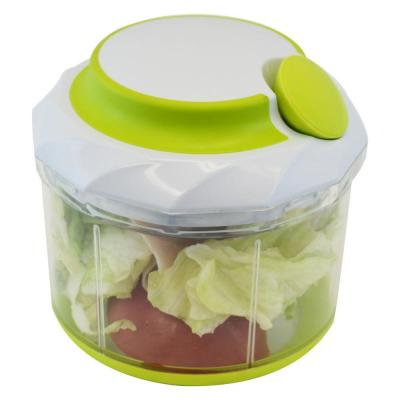 Large 4.5 Cups Manual Handheld Food Chopper Vegetable and Meat
