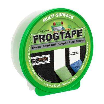 Multi-Surface 1.88 in. x 60 yds. Painter's Tape with PaintBlock