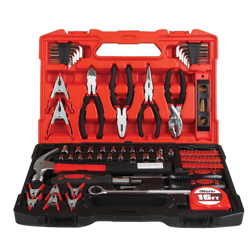 Olympia Sae And Metric Combination Tool Set 90 Piece