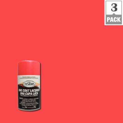 3 oz. Electric Pink Lacquer Spray Paint (3-Pack)