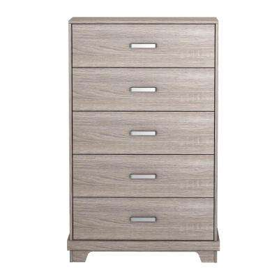 Manhattan 5-Drawer Sonoma Chest