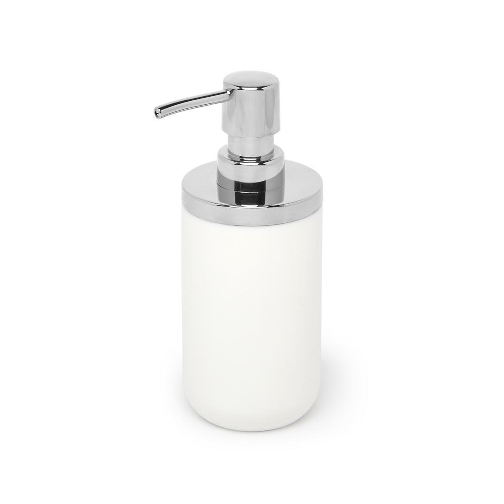 Umbra Junip Soap Pump Chrome White