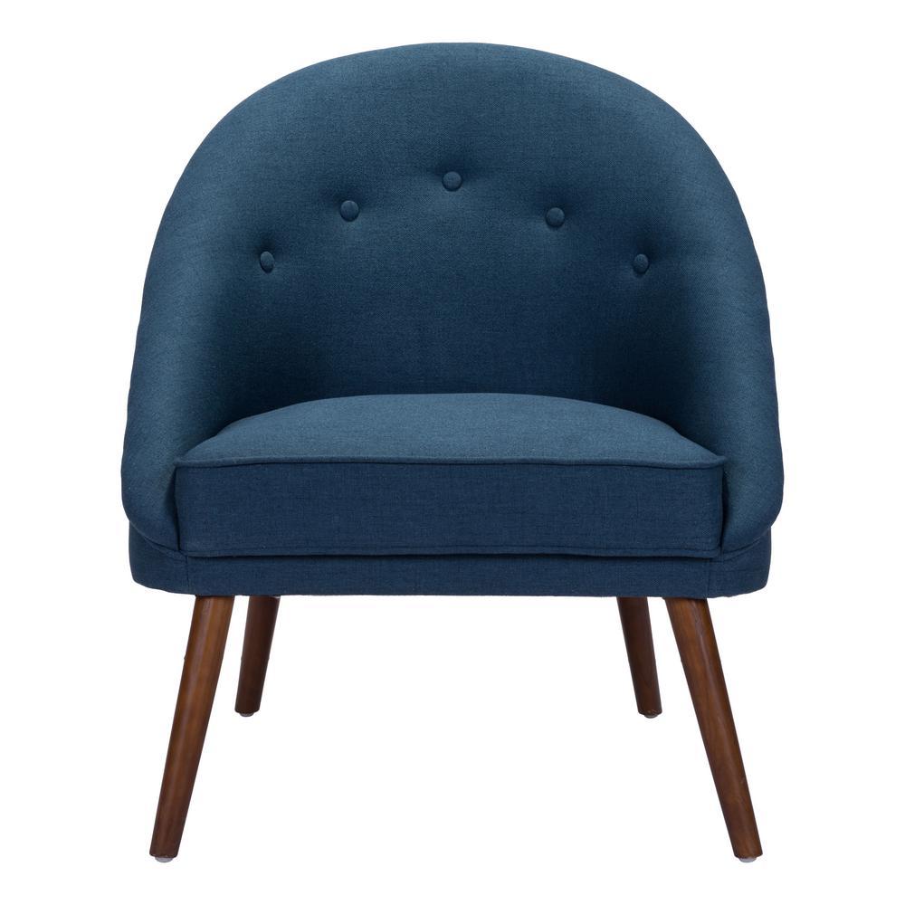 Carter Cobalt Blue Occasional Chair
