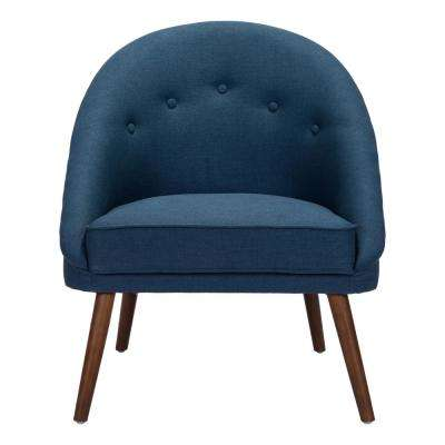 Carter Cobalt Blue Occasional Chair
