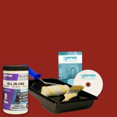 1 qt. Poppy Furniture, Cabinets and More Multi-Surface All-in-One Refinishing Kit