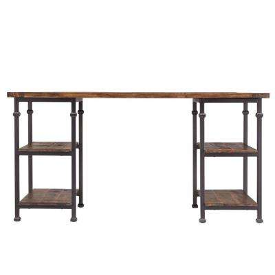 Grove Distressed Cocoa Desk