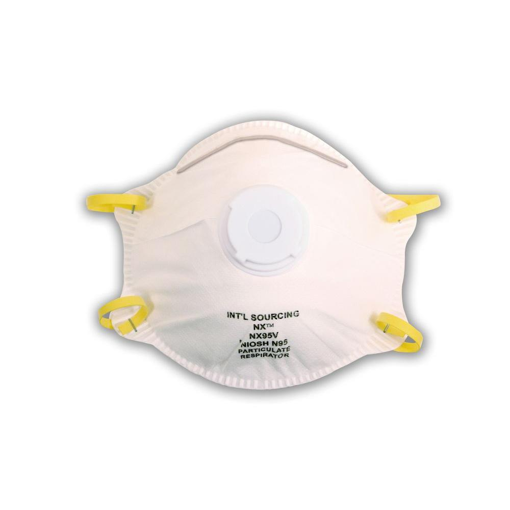 Cordova Cordova N95 Approved Valved Particulate Respirator (10 per Box)