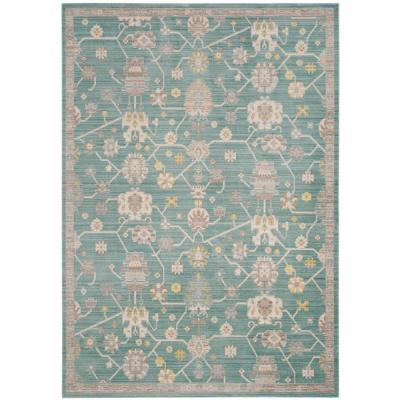 Valencia Steel Blue 8 ft. x 10 ft. Area Rug