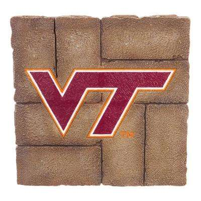 Virginia Tech 12 in. x 12 in. Decorative Garden Stepping Stone