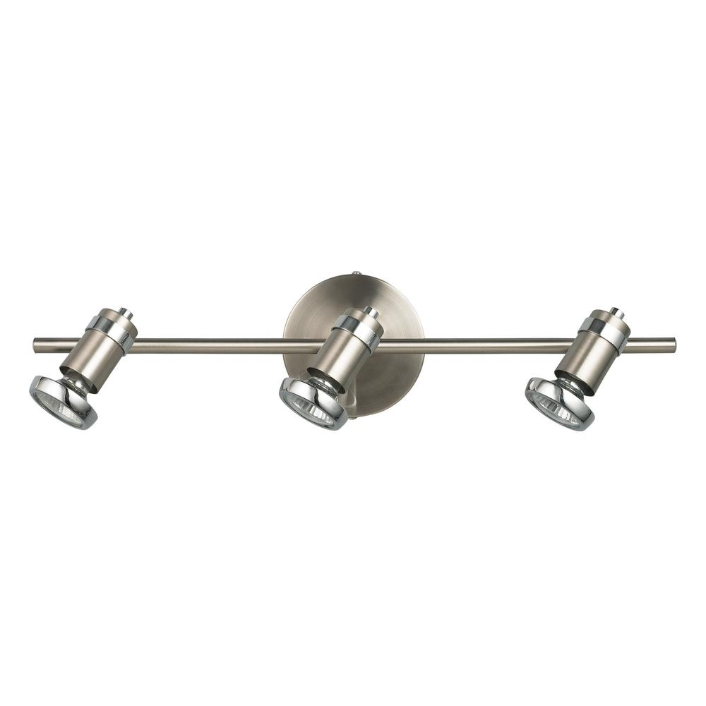 Shay 21 In 3 Light Brushed Pewter And