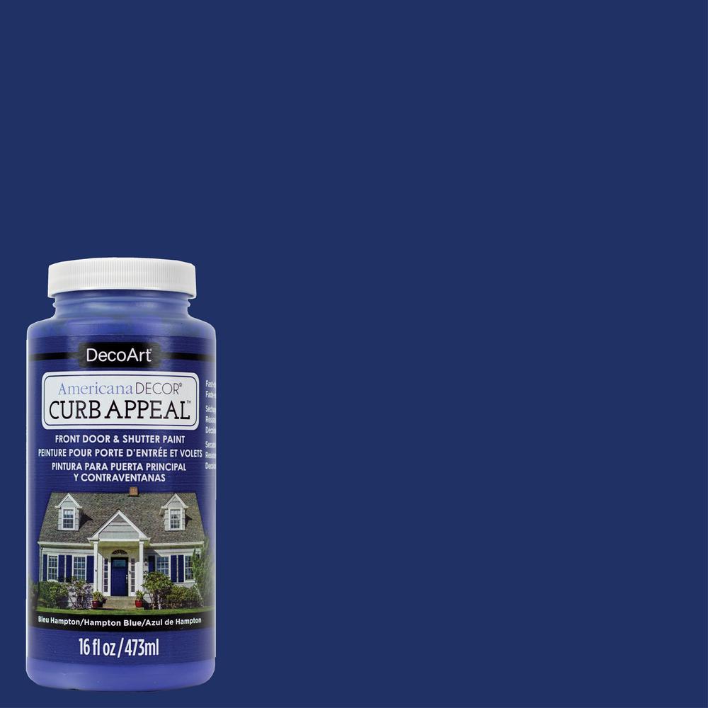 Americana Decor Curb Appeal 16 oz. Hampton Blue Acrylic P...