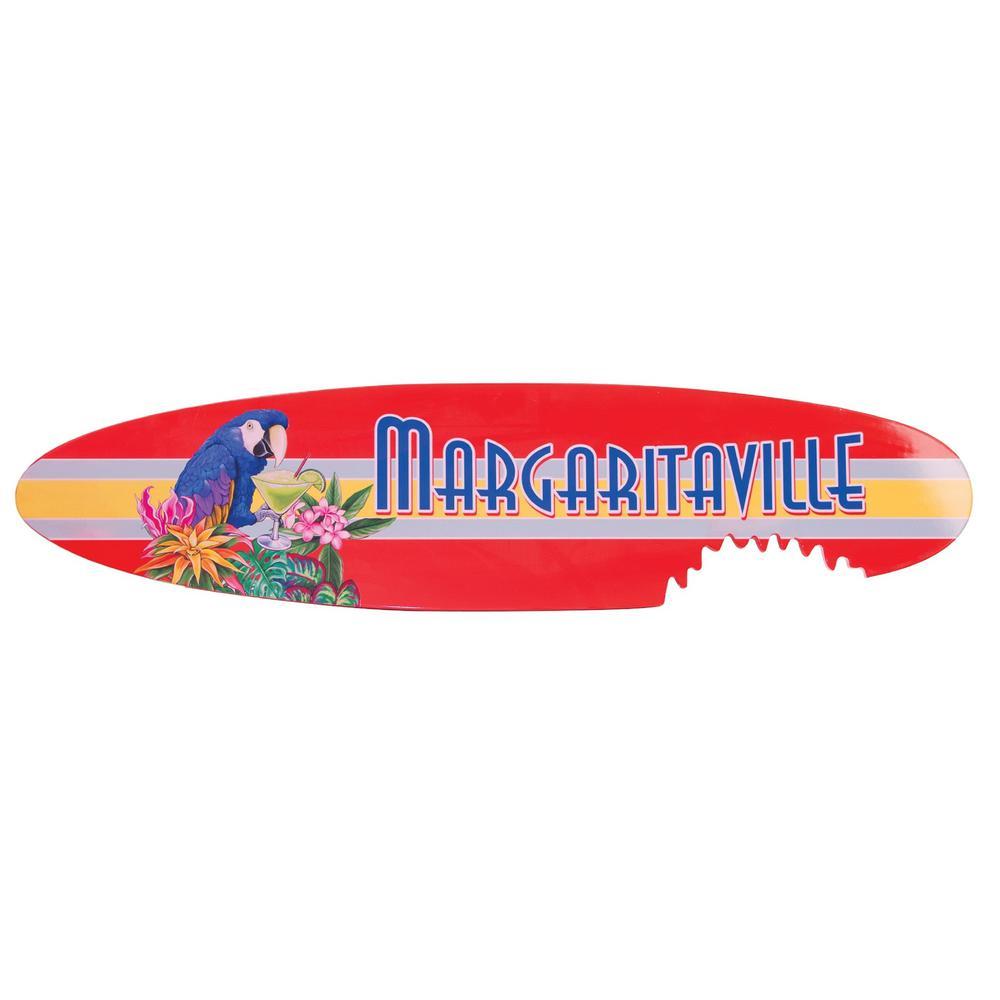 Shark Bite Surfboard Sign
