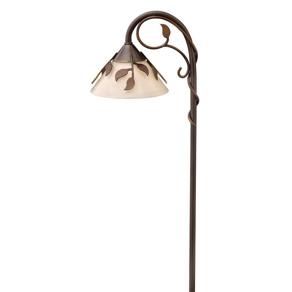 Hinkley Lighting Low-Voltage 18-Watt Copper Bronze Ivy Outdoor Pathway Light Fixture