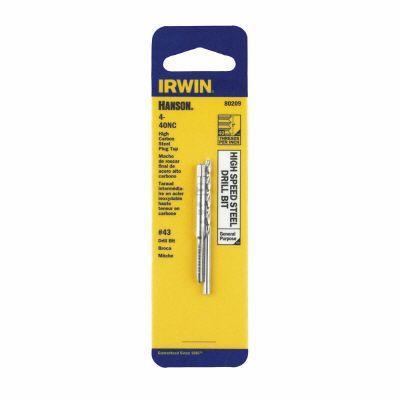 Irwin 4-40 Tap and Drill Bit Combo