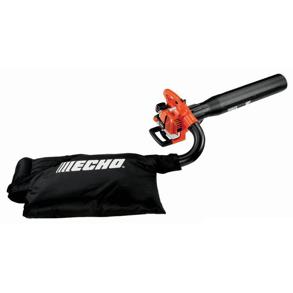 Echo 165 Mph 391 Cfm 25 4 Cc Gas 2 Stroke Cycle Leaf Blower Vacuum Es 250aa The Home Depot