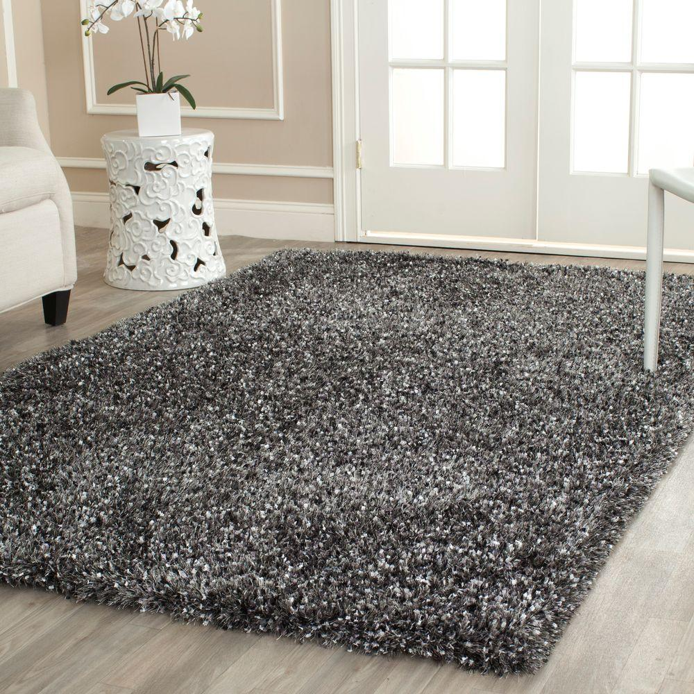 Safavieh Malibu Shag Charcoal 10 Ft X 14 Ft Area Rug