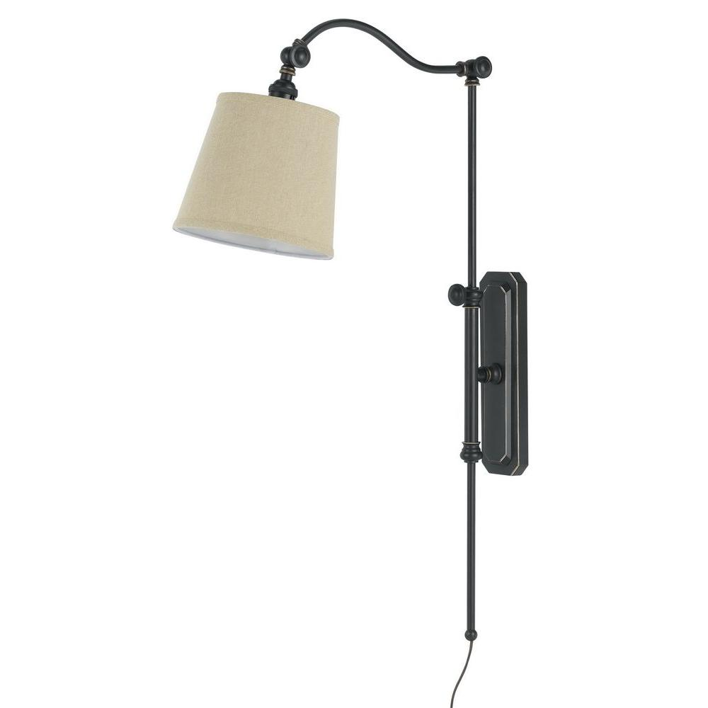 Pompano 1 Light Oil Rubbed Bronze Wall Lamp