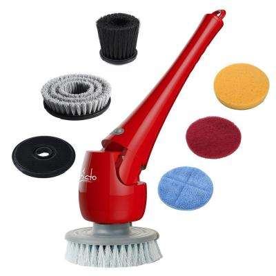 Electronic Telescopic Waterproof Scrubber and Polisher