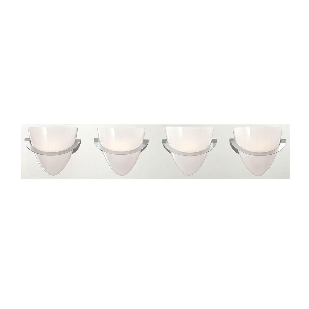 Forma Collection 4-Light Chrome Bath Bar Light