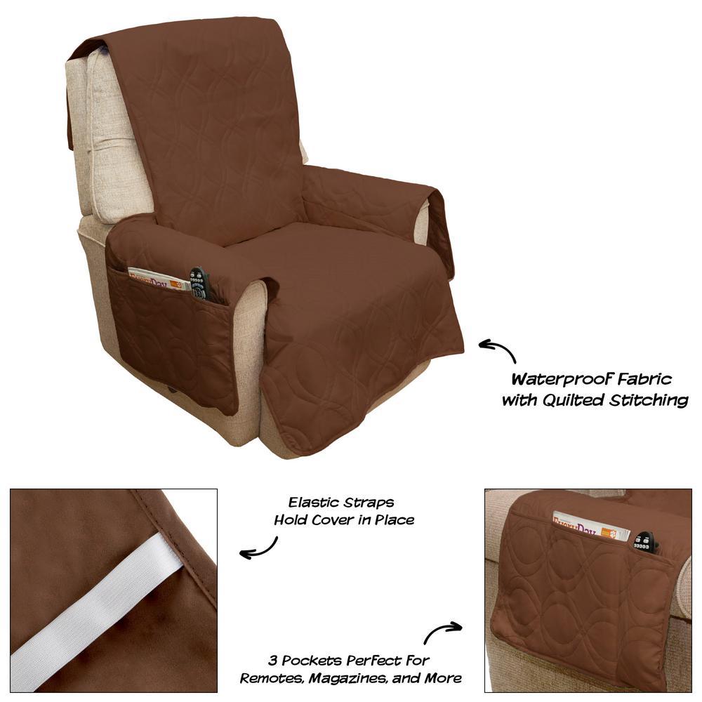 Prime Petmaker Non Slip Brown Waterproof Chair Slipcover M320125 Customarchery Wood Chair Design Ideas Customarcherynet