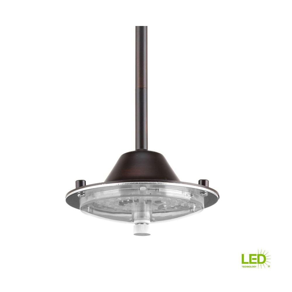 Markor Integrated LED Collection 1-Light Antique Bronze Integrated LED Mini