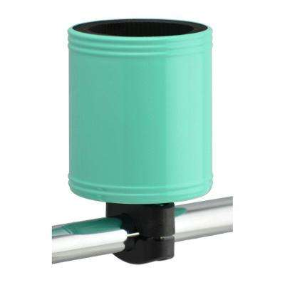 Kroozercups Drink Holder 2.0 Fits Bars from 5/8 in. to 1-3/8 in. with New Super-Tight Grip in Sea Foam Green