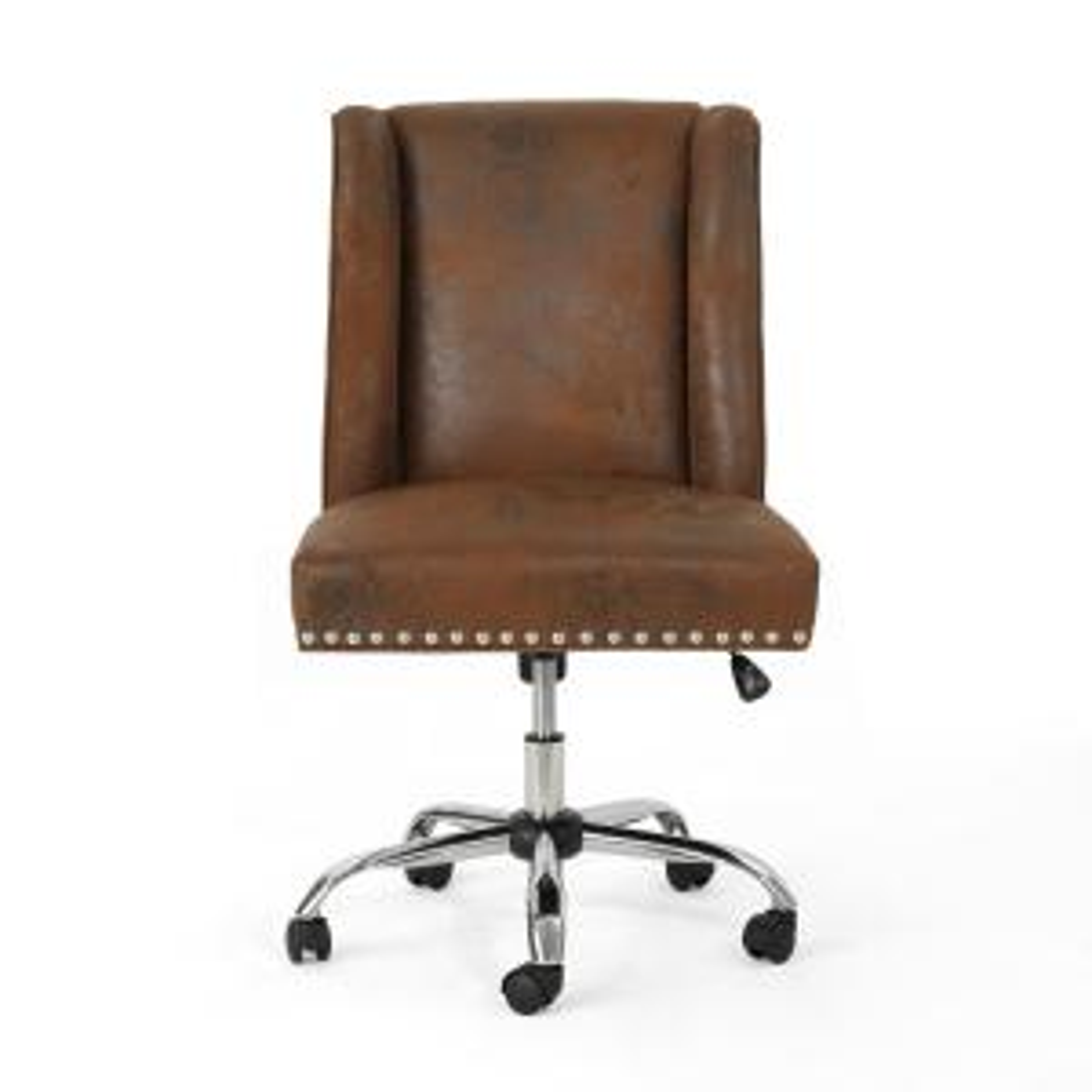 Sensational Boraam Mira Brown Office Chair 97912 The Home Depot Ncnpc Chair Design For Home Ncnpcorg