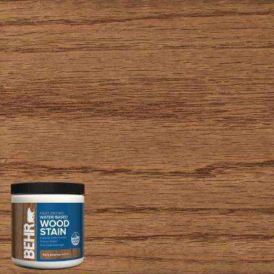 8 oz. TIS-516 Early American Transparent Water-Based Fast Drying Interior Wood Stain