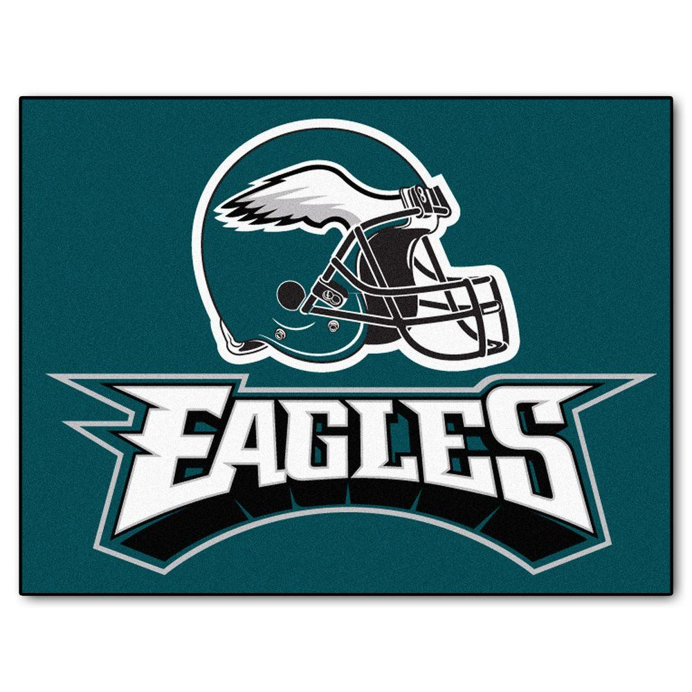 Fanmats Philadelphia Eagles 3 Ft X 4 Ft All Star Rug