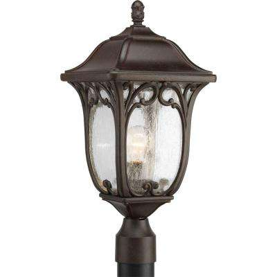 Enchant Outdoor Espresso Post Lantern