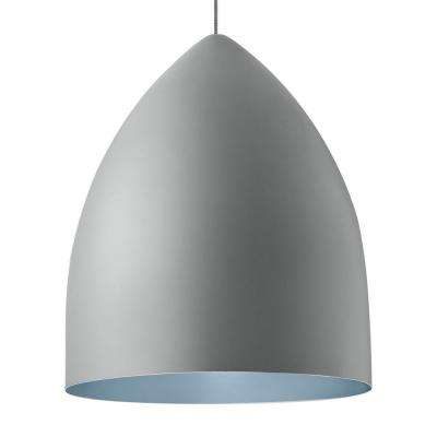 Signal grande gray led line voltage pendant