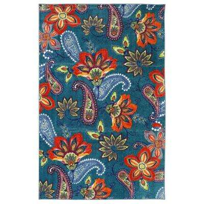 Whinston Multi 6 ft. x 9 ft. Area Rug