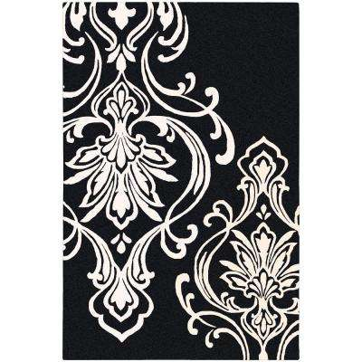 Candice Olson Black 8 ft. x 11 ft. Area Rug