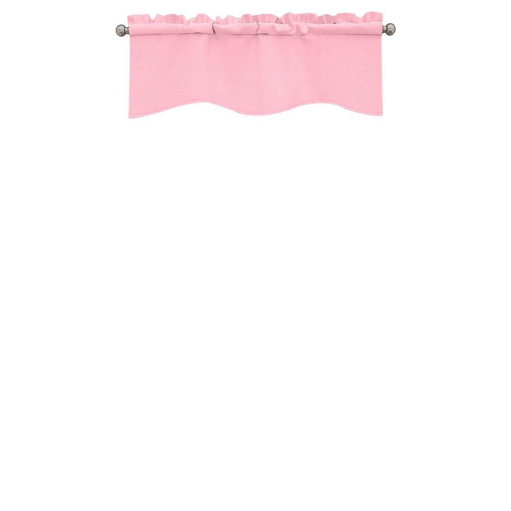 Eclipse Kendall Blackout Wave Window Valance in Bouquet - 42 in. W x 18 in. L