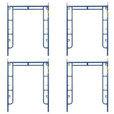 Saferstack 6.4 ft. x 5 ft. Mason Walk-Through Arch Scaffold Frame (4-Pack)